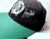 Baseball Cap Boston Celtics/AGD Snapback/80's Larry Bird Signature