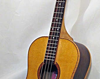 Tenor Guitar - tuned in fifths, Walnut or Curly Maple