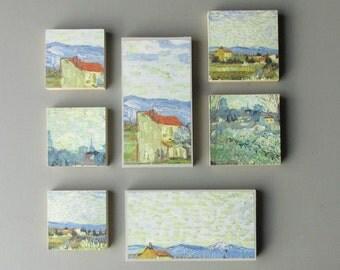 wall art - Van Gogh - a 7 pc wall art collection