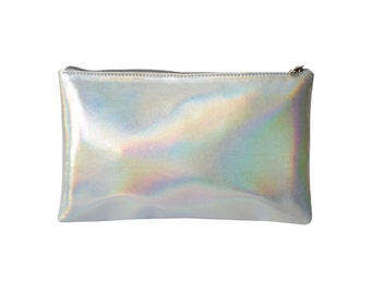 Holographic vegan pouch (Ready to Ship)