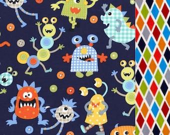 Monster Mash Nap Mat Cover - Basic Kindermat Cover