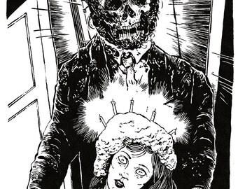 Creepshow Original Ink
