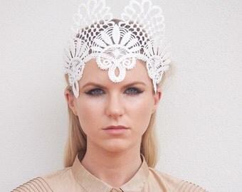 Lace Headpiece / Crown