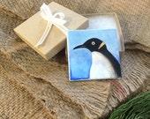 Penguin mini painting