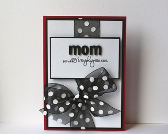 Mom Handmade Card