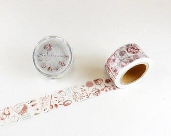 Chamil garden Fruit washi tape 25mm x 10M washi masking tape