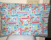 "Travel Size - Snoopy - Small - Fits 12"" x 16"" Pillow"