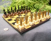 Private listing for etsy member- EMShafer01-        10 inch rock maple chess board ( board only-pieces not included)