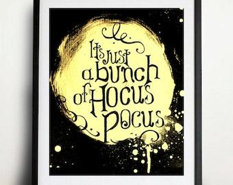 Digital Download - Hocus Pocus - It's just a bunch of hocus pocus