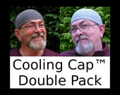 Mens Cotton Cooling Cap™ Double Pack: Armor Gray and Light Gray