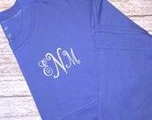 Monogrammed Spirit Pom Pom Jersey, monogrammed shirt