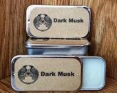 Dark Musk Solid Perfume Balm