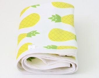 Custom Baby Blankets - Baby Blanket - Baby Blankets Handmade - Baby Blanket Boy - Baby Blanket Girl - Modern Baby Blanket -Pineapple Blanket
