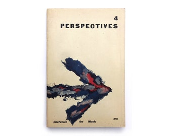 Alvin Lustig & Erle Yahn magazine design. Perspectives USA (Issue 4, Summer 1953) published by James Laughlin