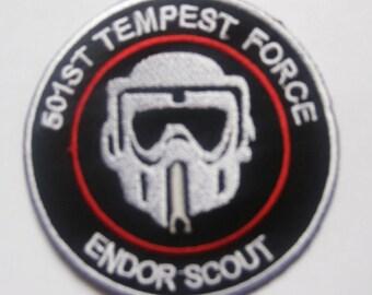STAR WARS STORMTROOPER Death Squadron Endor scouts Patch Badge