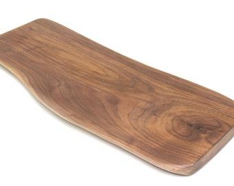 Walnut Wood Slab Live Edge Cutting Board Block - Sustainable Harvest -  Timber Green Woods