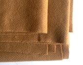 "Upholstery Wool Fabric - Designtex Wool Saxony - Caramel Khaki - 2-3/4 Yards X 47-1/2"" Width - DIY Crafting Chair Pillow Seat Cushion"