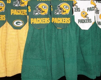 Hanging Kitchen Towels - NFL- Green Bay Packers