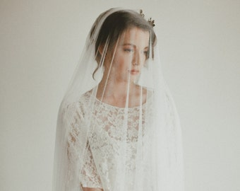 French silk drop veil, #1316