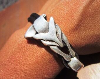 silver Fox bracelet, womens jewelry, cute jewelry, cute bracelet, spring bracelet, spring jewelry, spring fashion jewelry, spring trends