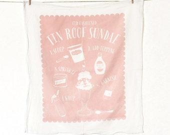 Tin Roof Flour Sack Kitchen Towel