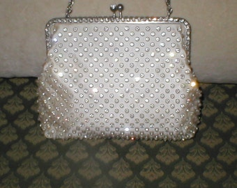 Vintage Rhinestone Evening Purse