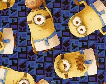 Egyptian Minions - Quilting Treasures - 1 yard - More Available - BTY