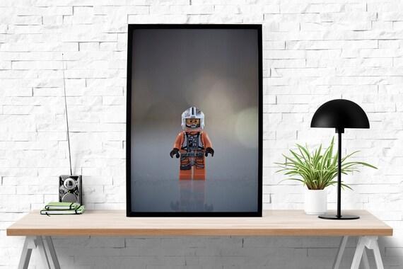 Lego Man Print Abstract Art Print Home Decor Modern By