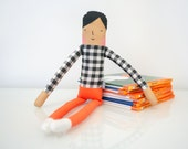 Plaid Girl Doll (Little People)