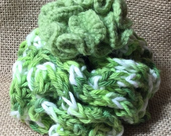 Crochet Sea Lettuce