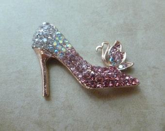 Jeweled High Heel Shoe - Magnet