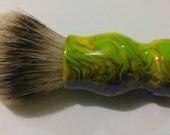 Goosebumps Acrylic Shaving Brush, Chunky Handled, 26mm Synthetic Grey Tip #SH5