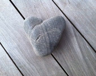 Large Heart Shaped Beach Stone, Home And Living, Home Decor, Anniversary, Arts And Collectibles, Craft Supplies, Wedding Decoration