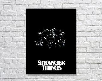 Stranger Things Minimalist Art Poster Print