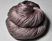 Dancing tree OOAK  - Silk Fingering Yarn - Knotty skein