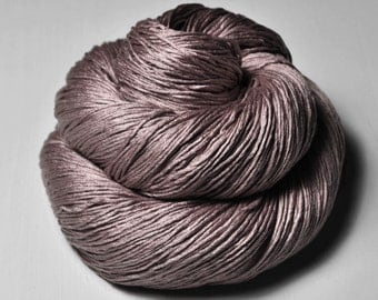 Dancing tree - Silk Fingering Yarn- Knotty skein