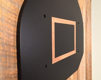 Chalkboard Basketball Backboard - Wall Art