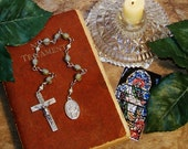 Unbreakable Catholic Chaplet of St. Mark the Evangelist - Patron Saint of Attorneys, Notaries, Prisoners and Stained Glass Workers
