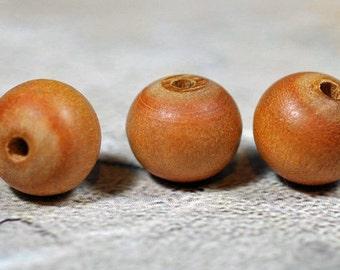 Sandlewood beads, 10mm, #474