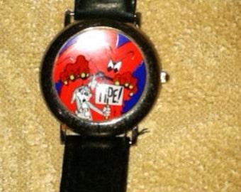 Vintage bugs bunny gossamer watch