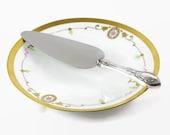 Vintage Sterling Cake Pie Server, Wedding Cake Server, Elegant Table