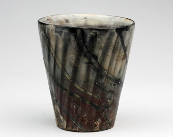 Dark Cup with Red Bottom