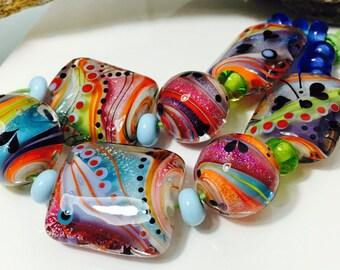 Glitter Beadset (19)  by Caroline Dousi