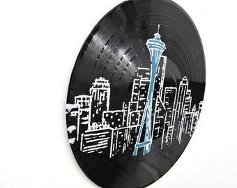 Seattle Sky Line Vinyl Record