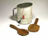 Primitive Butter Paddles - RESERVED FOR CHRIS circa 1940's