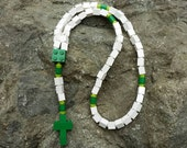 Lego Rosary The Original Catholic Lego Rosary in White & Green Boys Confirmation Gift