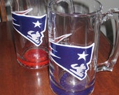 Made to Order Patriots Champagne Glass