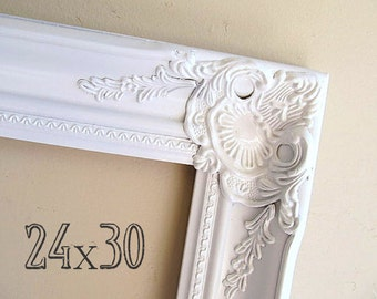 RESTAURANT DECOR 24x30 Picture Frame Restaurant Sign Menu Wall Decor Bakery Decor Wood Frame Baroque Frame Photo Frame Picture Frame Ideas