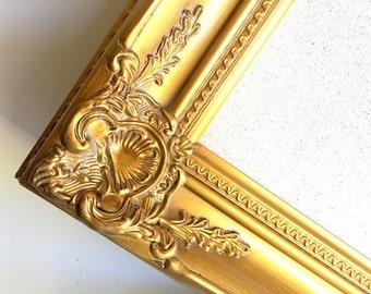Framed MEMO BOARD Wedding Seating Card Holder Seating Chart Gold Frame MAGNETIC Boards for Sale Vintage Ornate Fabric Board Bulletin Board