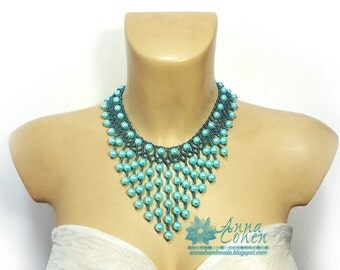 Cascade necklace FREE SHIPPING